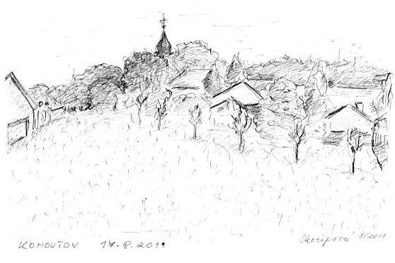 Kresby v krajině
